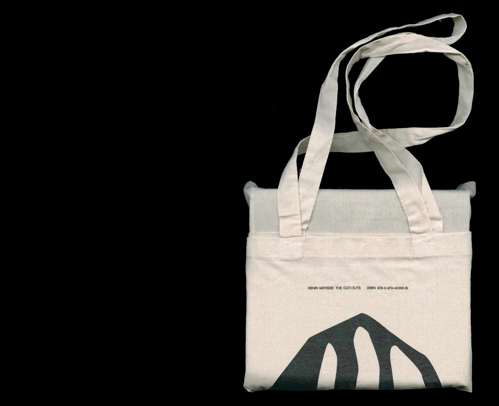 Supporting screen printed tote bag, Henri Matisse: The Cut-Outs